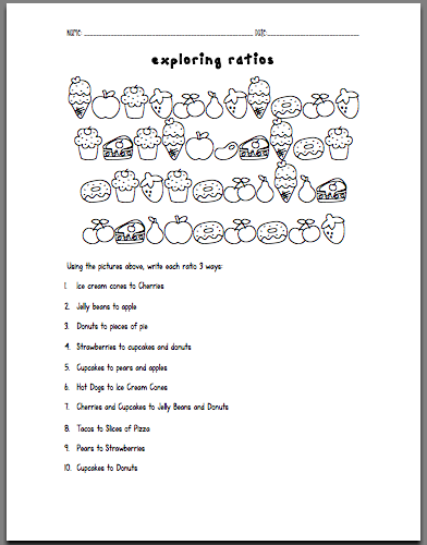 Ratio Worksheets Grade 8 Worksheets for all | Download and Share ...
