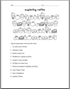 ratio worksheets pdf