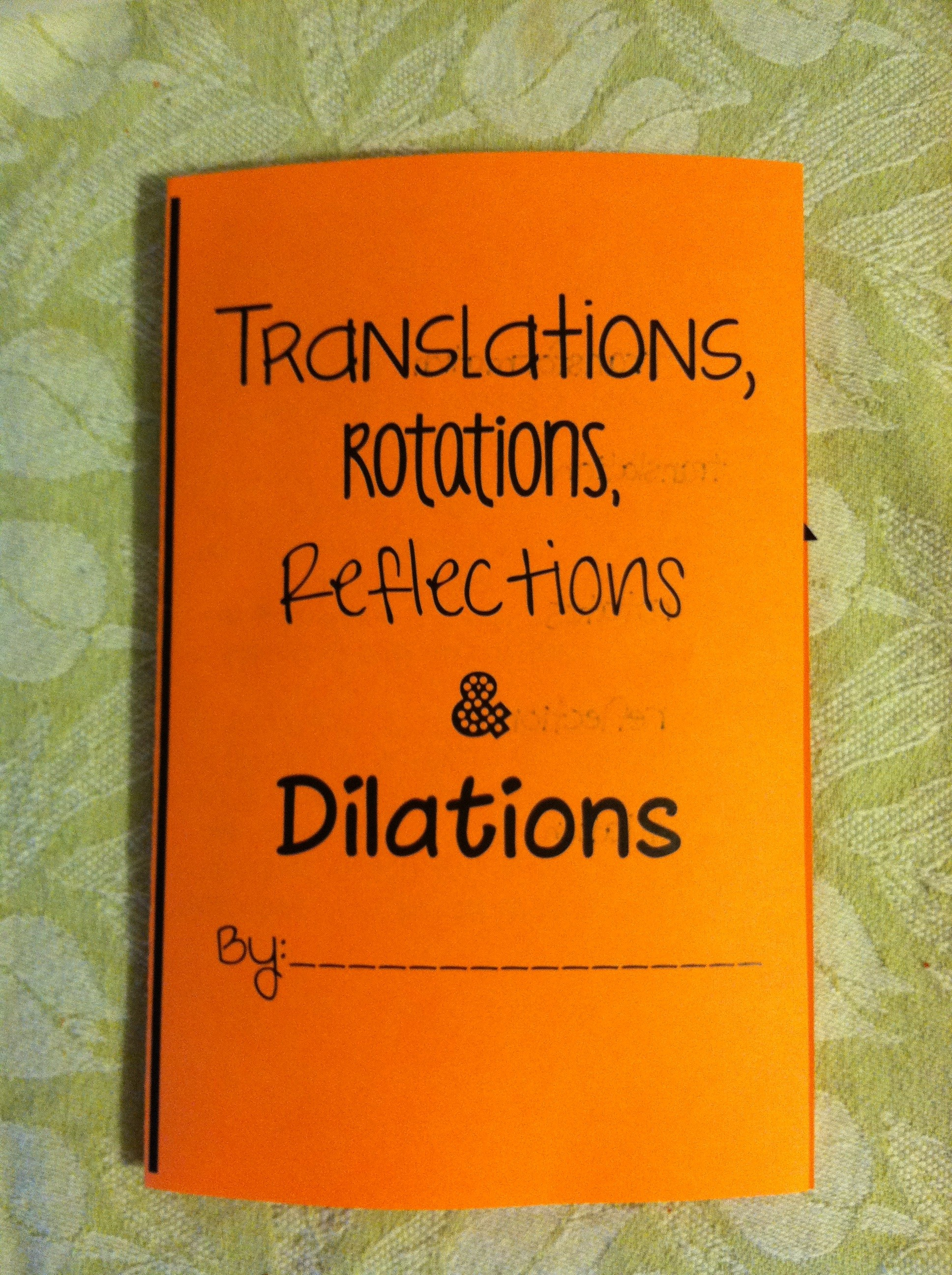 Uncategorized 8th Grade Math Transformations Worksheet transformations foldable tothesquareinch anyone