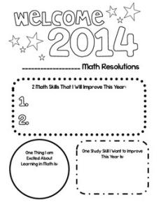 Math Goals for 2014